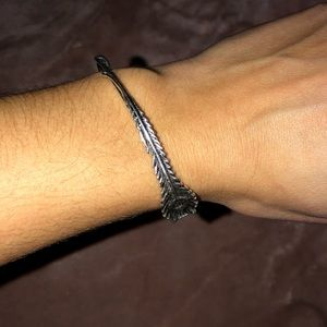 Alex and Ani Feather Bangle Bracelet